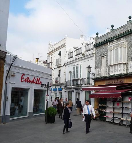 Chiclana de la frontera Andalusien Foto Innenstadt