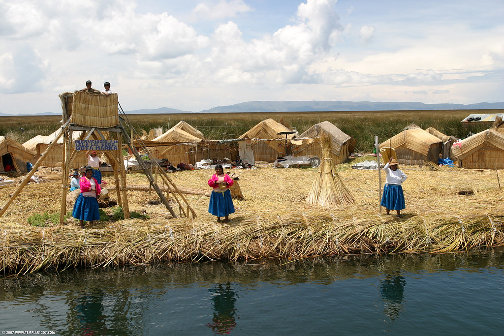 PE07 0055 Uros Islands, Lake Titicaca