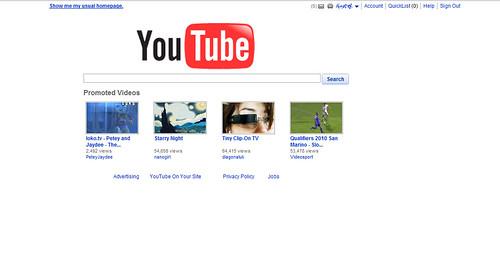 Minimalismus youtube testet startseite ala google gwb for Youtube minimalismus