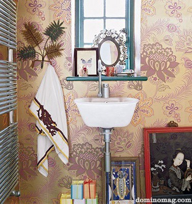 Bohemian bathroom accessories