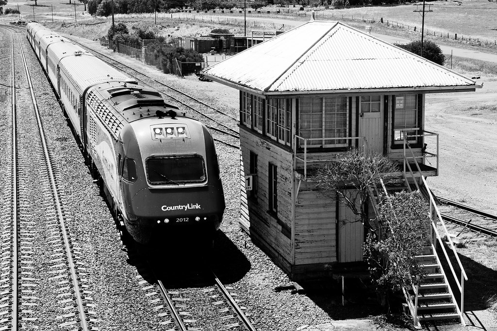 XPT Arriving at Yass Junction   The southbound Daylight Melb…   Flickr