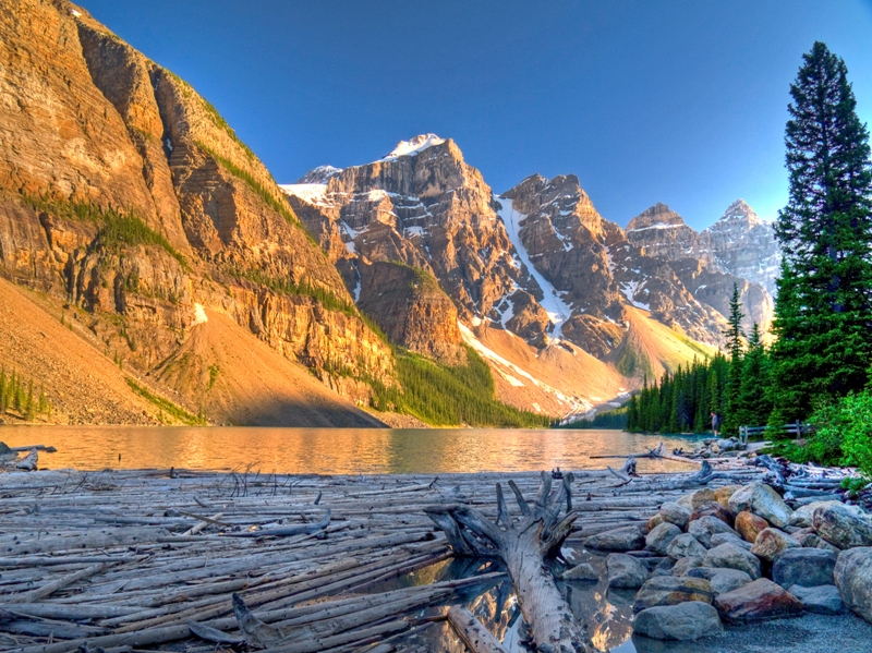 Shores of Moraine Lake