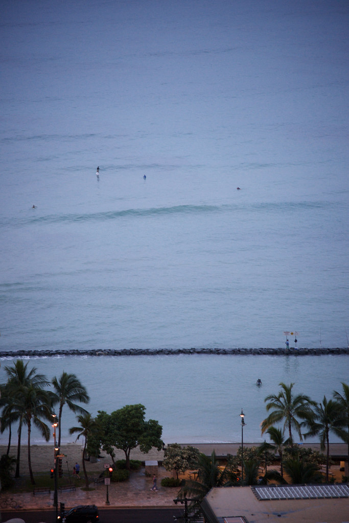 The View from the Honolulu Hilton