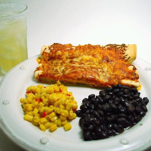 Easy Cheesy Chicken Enchiladas 2