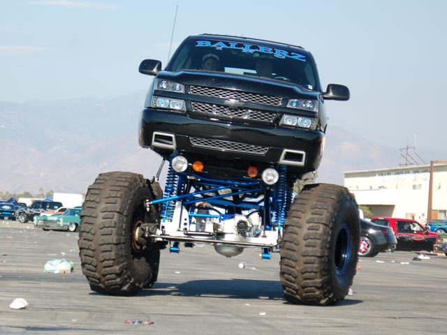 huge lifted chevy truck | Flickr - Photo Sharing!
