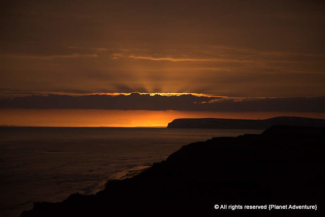 Sunset - Isle Of Wight - Easter Trip - UK