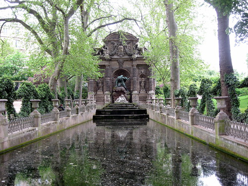 Medici Fountain at Luxembourg Palace, Paris