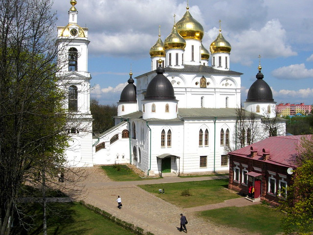 The Cathedral of the Assumption in Dmitrov's kremlin