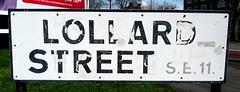 Lollard Street, Kennington, SE11