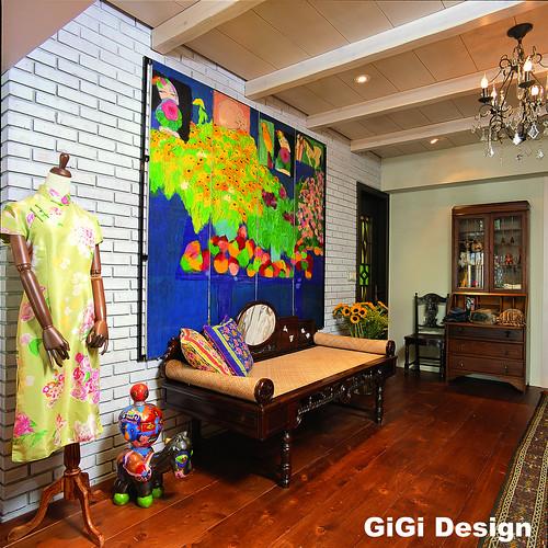 集集設計2006年室內設計作品-上海租界風
