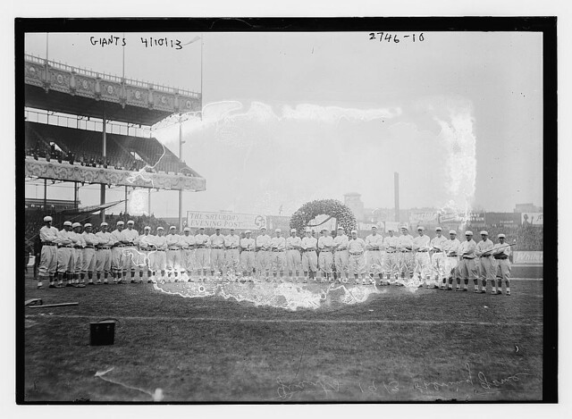 [New York NL Giants team at Polo Grounds (baseball)] (LOC)