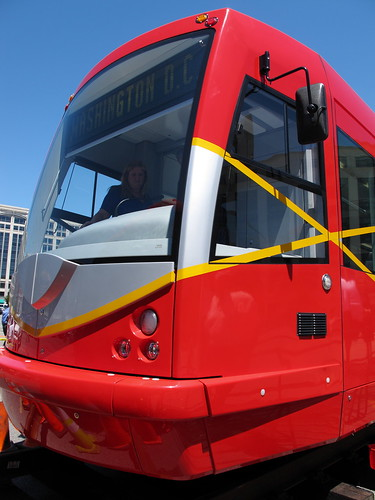 DC Streetcar Front by Mr. T in DC