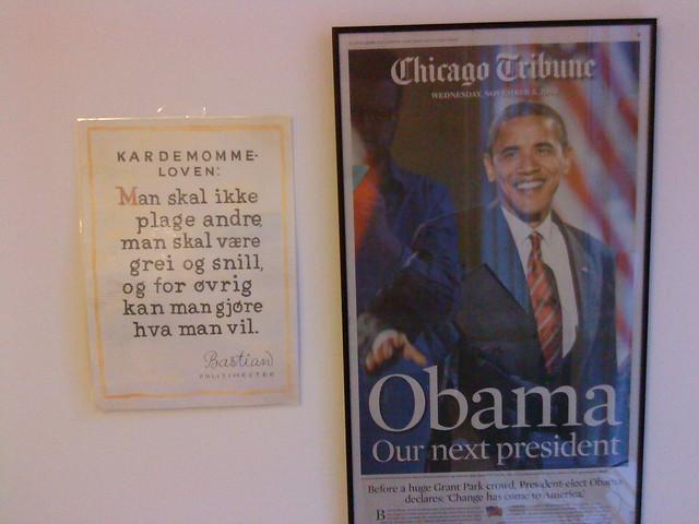 Obama og Kardemommeloven | Flickr - Photo Sharing!