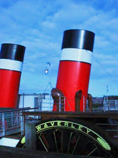 Paddle Steamer Waverley, River Clyde