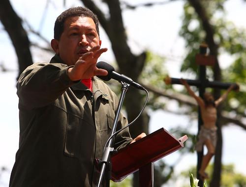 Comandante Chavez, en Honor a los Caidos el 27F