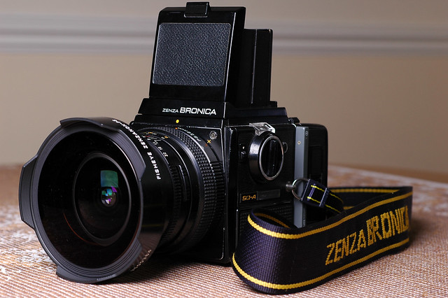 Bronica SQ-A w/ 35mm f/3.5 Fisheye PS