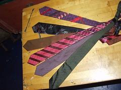 medium reality necktie & blanks
