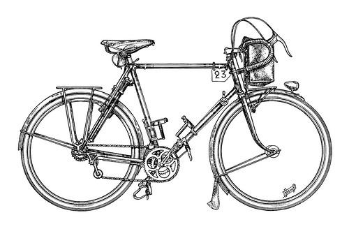 Daniel Rebour_Rene Herse_1948_ Bike only