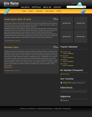 BlackStar Theme Wordpress