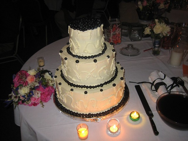 cheesecake wedding cake 2 flickr photo sharing. Black Bedroom Furniture Sets. Home Design Ideas