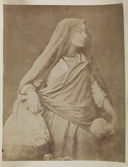 'Egyptian woman with a water jug'