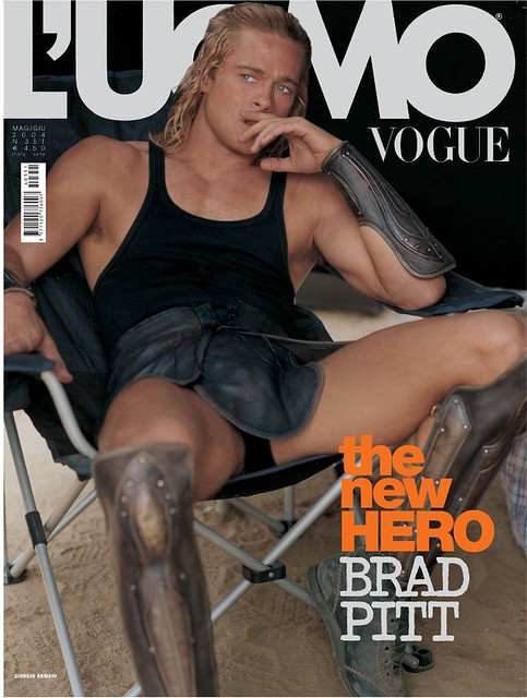 Brad Pitt Troy Hair