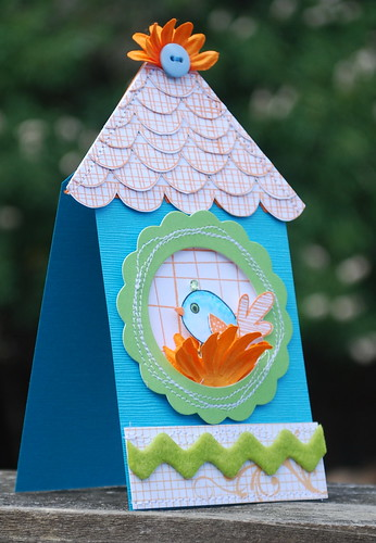 Color Challenge Bird House