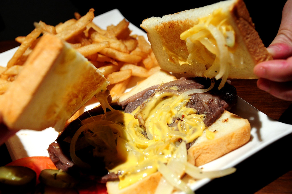 En Burger-沙朗牛肉三明治 (200)