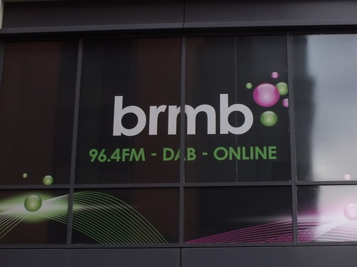 BRMB - 96.4FM - DAB - ONLINE - Nine Brindleyplace from Broad Street.