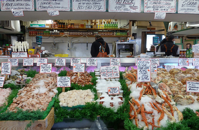 Seafood Restaurants Pike Place