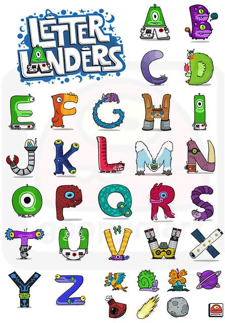 Letter Landers Alphabet | Flickr - Photo Sharing!
