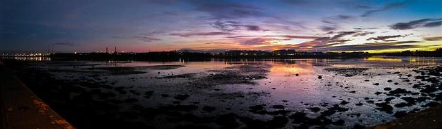 Dublin East Point Business Park Sunset