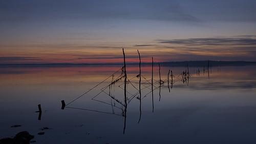 sunset scotland galloway dumfriesandgalloway creetown vob wigtown ef1740mmf4lusm bej lightzone canon50d rivercree anawesomeshot wigtownsands