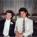 SCAN: 1984 - At my sister's wedding, with Joel Podolny