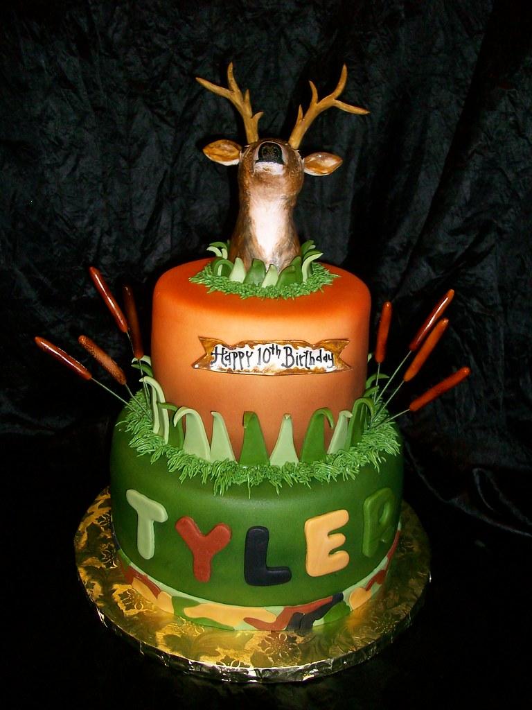 Deer Hunting cake