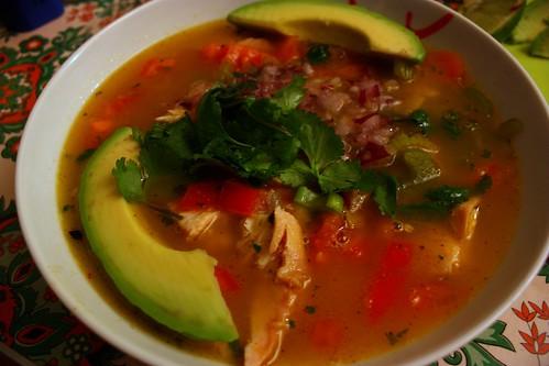 Baby Acapulco's Soup in Paris!