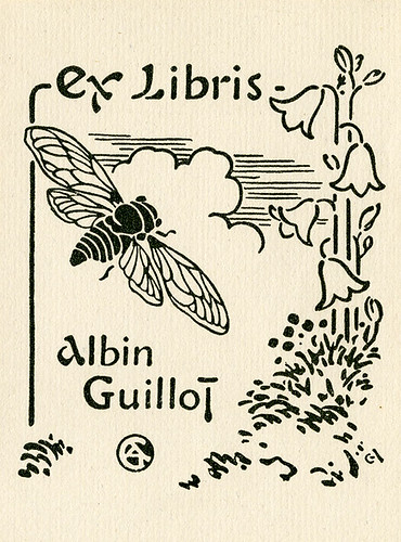 [Bookplate of Albin Guillot]