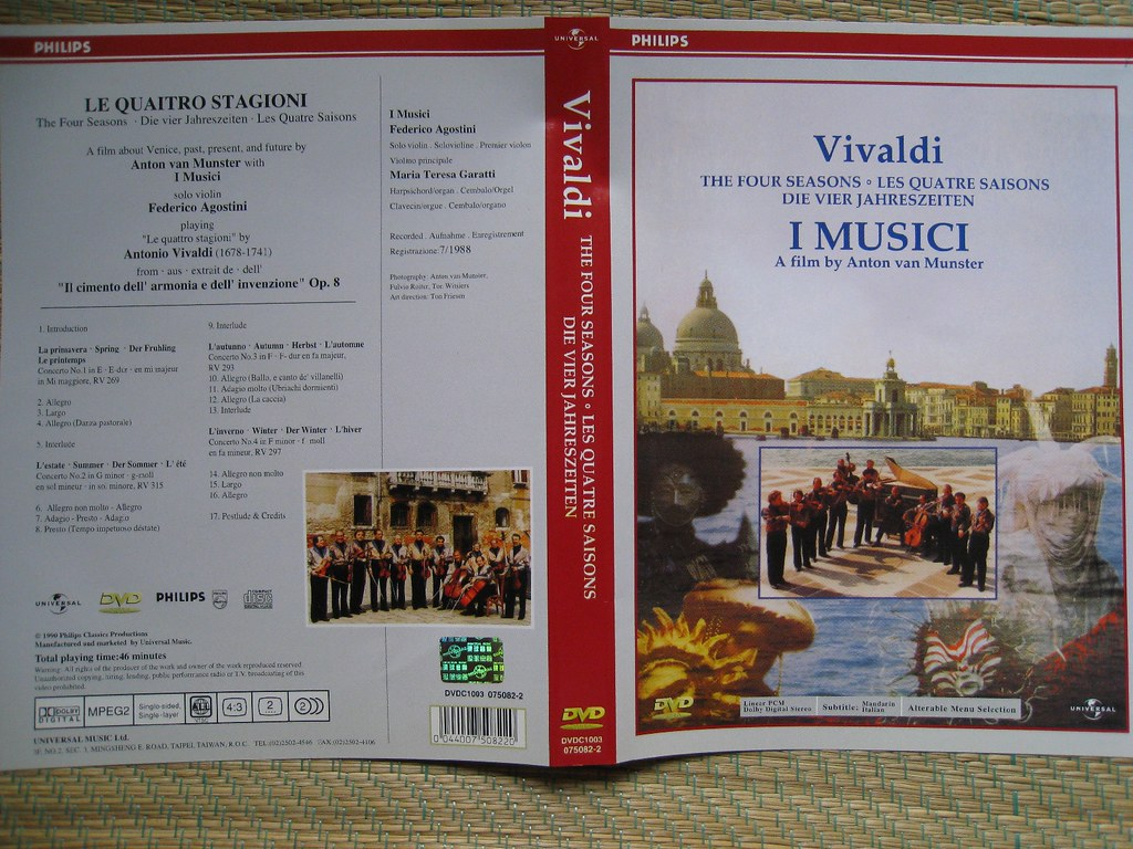 vivaldi 4 seasons dvd cover