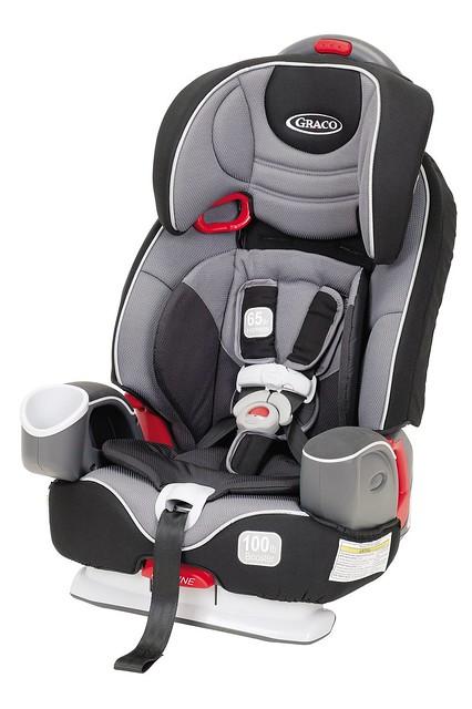 Graco Nautilus  In  Car Seat Seat Belt Installation