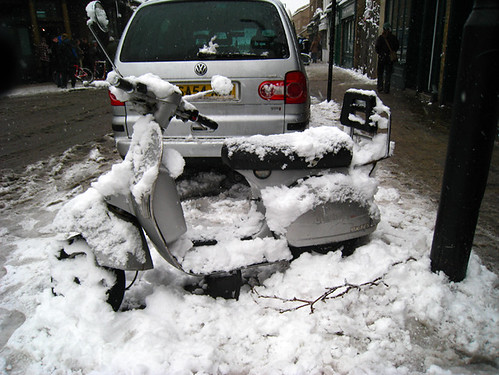 icy, icy moped