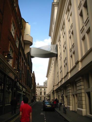 Skybridge in Covent Garden