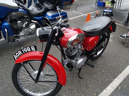 BSA 175cc Classic Motorcycle - 1964