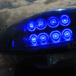 Surrey Police BMW 5 series - LED lightbar