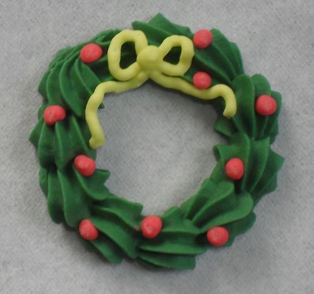 Sugar Christmas Cake Decorations
