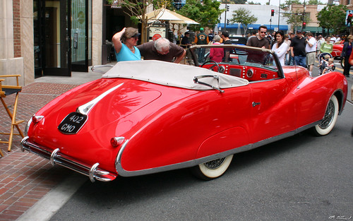 1949 Delahaye Type 178 Drophead Coupe - Elton John car - rvr
