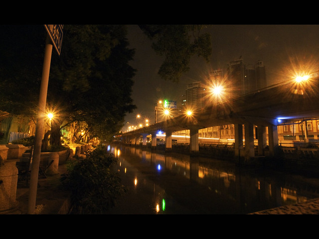 The Canal of Shamian Island