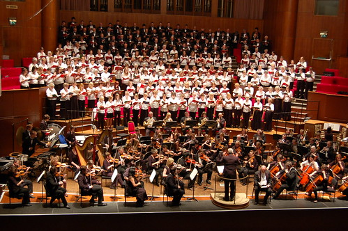 UWE Singers and Symphony Orchestra with massed choruses perform Belshazzar's Feast
