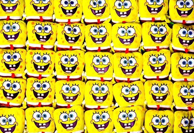 Do You Like to Watch Spongebob He Asked Her