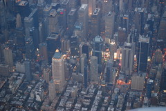 Manhattan from the air - NYC