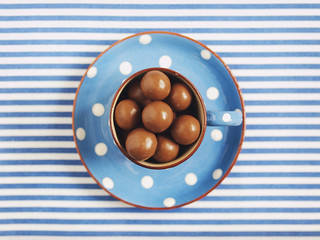 Stripes, Dots and Chocolate-Covered Nuts